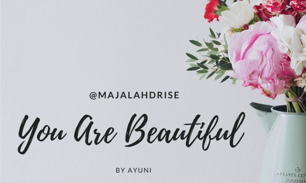 You Are Beautiful by ayuni