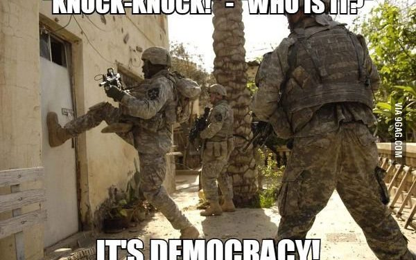 THE WEAKNESS OF DEMOCRACY