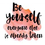 Be your self aja